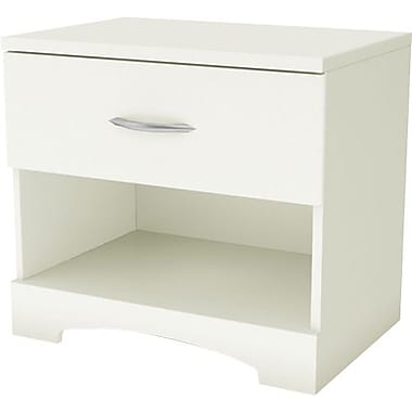 South Shore City Life Collection Night Stand, White