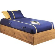 South Shore Little Treasures Collection Twin Mates Bed, Country Pine
