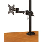 Bush Business Monitor Arm with Post, Black