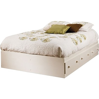 South Shore Summer Breeze Collection Double Mates Bed, Vanilla Cream