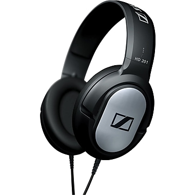 Sennheiser HD 201 Headphones, Black