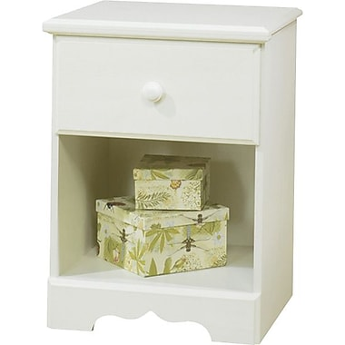 South Shore Summer Breeze Collection Night Stand, Vanilla Cream