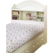 South Shore - Tête de lit avec bibliothèque pour lit une place de la collectio