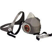 3M OH&ESD Drop Down Half Facepiece Respirator, DD Large