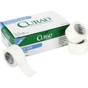 Curad® Hypoallergenic Paper Adhesive Tapes with Dispensers, 10 yds L x 2 W, 72/Case