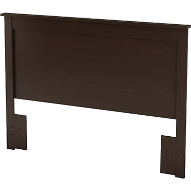 South Shore Vito Collection Full/Queen Headboard, Chocolate