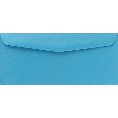 Bright Blue #10 Envelopes, 25/Pack