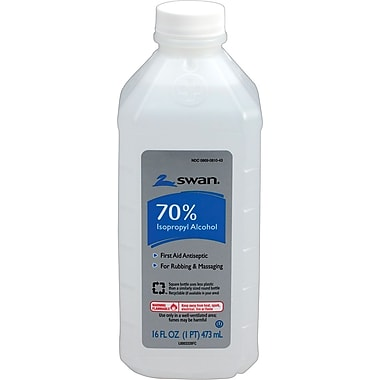 Medline Isopropyl Alcohol, 70%, 16 oz