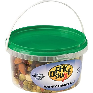 Office Snax All Tyme Favorite Nuts, Happy Heart Mix, 16 oz.