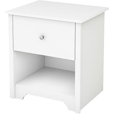 South Shore Vito Collection Night Stand, White