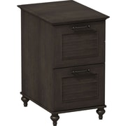 kathy ireland® Office by Bush Furniture Volcano Dusk 2 Drawer File Cabinet, Kona Coast (ALA009KC)