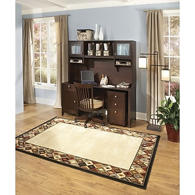 kathy ireland by Bush Grand Expressions Home Office Suite 2, Warm Molasses