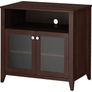 kathy ireland® by Bush® Grand Expressions Tall TV Stand, Warm Molasses