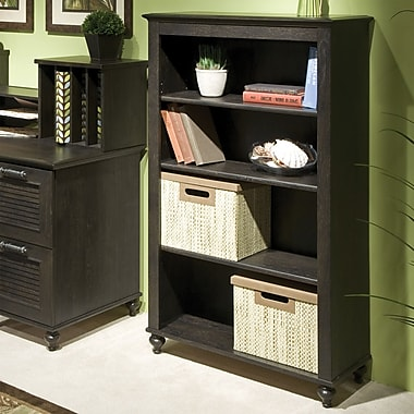 kathy ireland by Bush Volcano Dusk 4-shelf Bookcase, Kona Coast