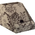 kathy ireland by Bush Charging Station, Floral Print Neutral/Chocolate