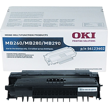 OKI 56123402 Black Toner Cartridge, High Yield