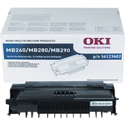 OKI® 56123402 Black Toner Cartridge, High Yield