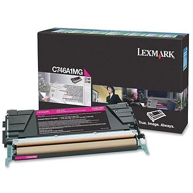 Lexmark Magenta Toner Cartridge (C746A1MG), Return Program
