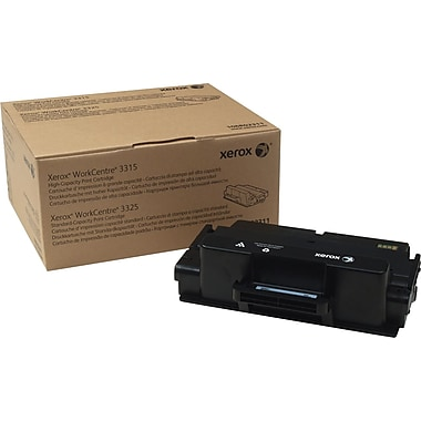 Xerox WorkCentre 3315/3325 Black Toner Cartridge (106R02311), Standard/High Yield
