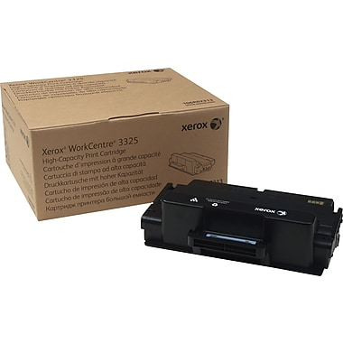Xerox WorkCentre 3325 Black Toner Cartridge (106R02313), High Yield