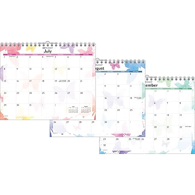 2014 AT-A-GLANCE® Watercolors Wall Calendar