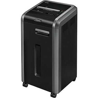 Fellowes Powershred 225Mi 4620001 14-Sheet Micro-Cut Shredder, Black