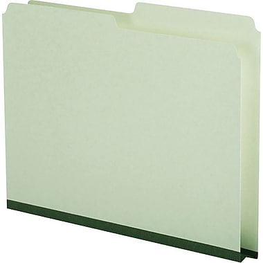 Pendaflex® Recycled Pressboard Folder, Legal Size, Green