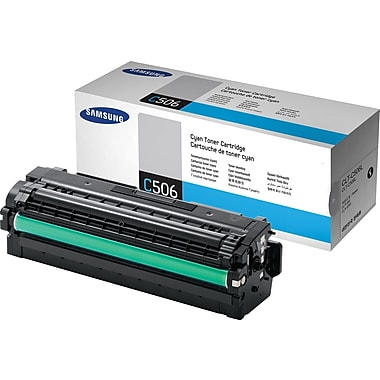 Samsung Cyan Toner Cartridge (CLT-C506L), High Yield