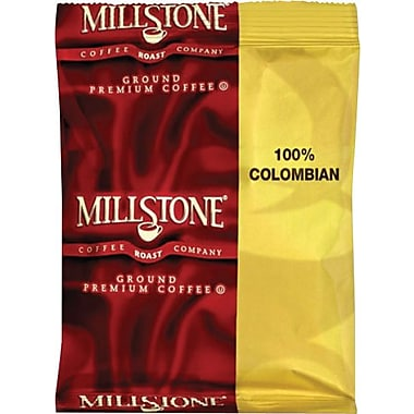Millstone® Premeasured Colombian Coffee, Regular, 1.75 oz., 40 Packets