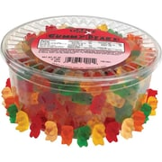 Office Snax Gummy Bears, Assorted Flavors, 2 lb. Tub