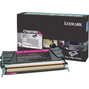 Lexmark Magenta Toner Cartridge (C748H1MG), High Yield, Return Program