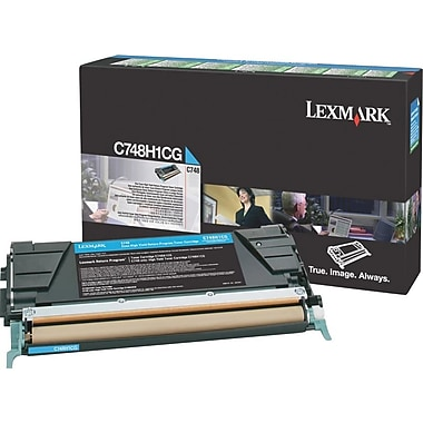 Lexmark C748 High Yield Return Program Toner Cartridge C748H1CG