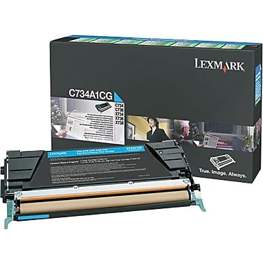 Lexmark X748 Cyan Return Program Toner Cartridge, High Yield