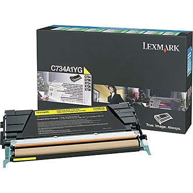 Lexmark X746 Yellow Return Program Toner Cartridge X746A1YG
