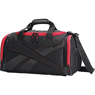 Reebok Reenew Duffel, Black/Red