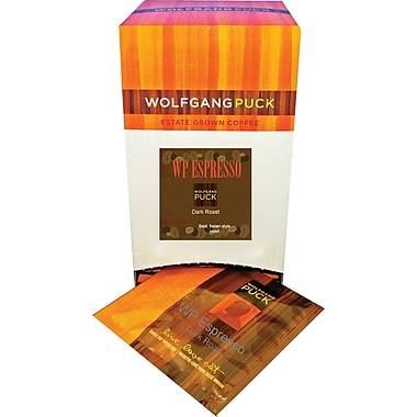 Wolfgang Puck WP Espresso Coffee, 18 Pods/Box