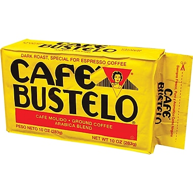 Cafe Bustelo Espresso Coffee, 10 oz. Brick