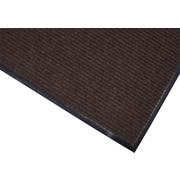 Brighton Professional™ Wiper/Scraper Floor Mat, 48W x 72L, Brown