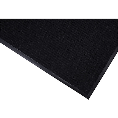 Brighton Professional™ Wiper/Scraper Floor Mat, 48in.W x 72in.L, Black