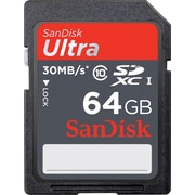 SanDisk Ultra 64GB Class 10 SDXC Memory Card