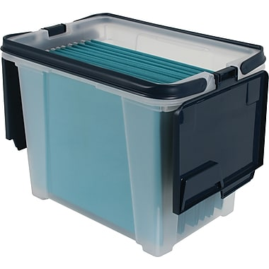 Iris Portable Wing Lid File Box