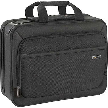 SOLO Sterling 16in. Smart Strap™ Briefcase, Black