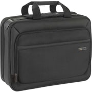 SOLO Sterling 16 Smart Strap™ Briefcase, Black