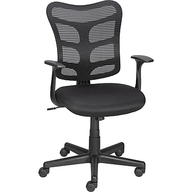 Staples Roncer Mesh Back Ergonomic Task Chair, Black