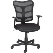 Staples® Roncer Mesh Back Task Chair, Black
