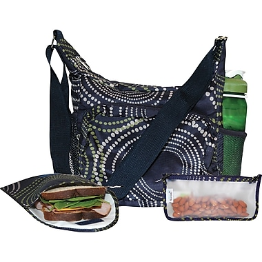 Blue Avocado Lunch Kit, Navy Avodot