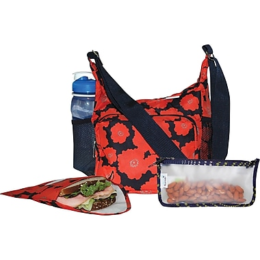 Blue Avocado Lunch Kit, Orange/Navy