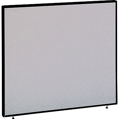 Bush® - Panneau d'intimité, collection ProPanel, 48 po x 42 po, gris clair