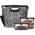 Blue Avocado Lunch Clutch Kit, Black Zebra