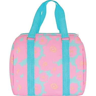 Blue Avocado Kids Lunch Duffle, Bubblegum Poppy